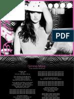 Digital Booklet - Gimme More - Single (AUS)