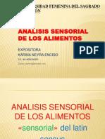 analisissensorialdelosalimentos-121018182958-phpapp01