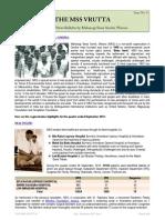 The MSS VRUTTA (a Quarterly News Bulletin by Maharogi Sewa Samiti, Warora) - July to September 2013 Issue