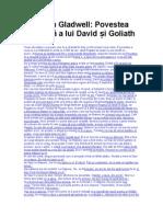Conversatiile tedcom- Malcolm Gladwell - Povestea nespusă a lui David și Goliath