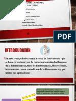 Diapositiva de Fluorimetria
