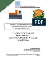 Sagarpa Valle Nacional Plan de Desarrollo 559