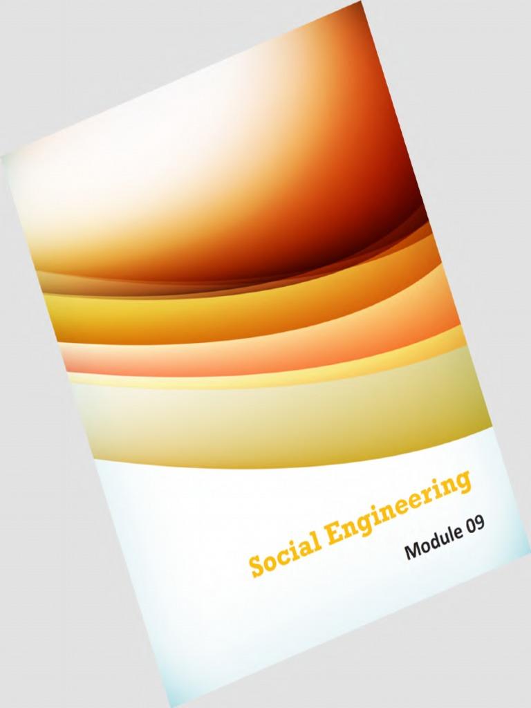 CEHv8 Module 09 Social Engineeringpdf Social