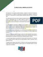 Analisis Del Impacto Social y Ambiental Del Proyecto