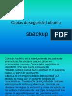 Copias de Seguridad Ubuntu