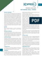Retaining Wall Terminology