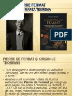 Proiect PIERRE Fermat