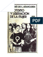 Aranguren, Jose Luis - Erotismo Y Liberacion de La Mujer