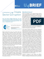 2755 Measuring Private Sector Corruption