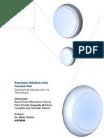 Informe de Exposicion de Introduccion a La Odontologia!