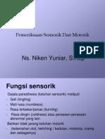 sensorik motorik