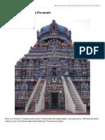Thirukoodal Sthala Puranam