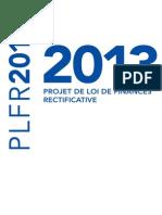 Projet de loi de finances rectificative 2013