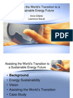 Assisting the World's Transition to a Sustainable Energy Future - Staudt Gillette