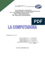 Trabajo de Computacion; Universidad
