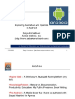 Introduction to Animation and OpenGL on the Android SDK Paper
