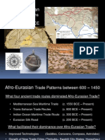 World History Lesson 22 AfroEurasian Trade Patterns Between 600 1450 CE