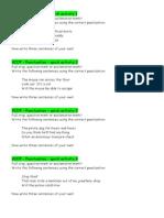 VCOP Punctuation Activities