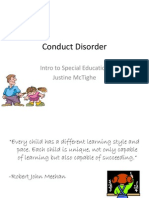 Conduct Disorder Presentation