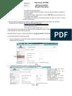 NT10006-Apertura Puertos Modem Fibra Optica