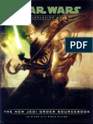 The New Jedi Order Sourcebook   Star Wars   Works
