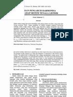 Kajian Pengaruh Harmonisa Journal