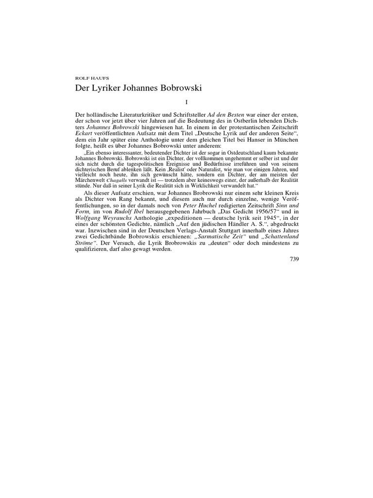 Sobre Bobrowski