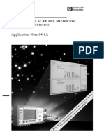 An 64-1A -- Fundamentals of RF and Microwave Power Measurements