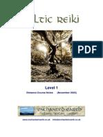 Celtic Reiki Level 1