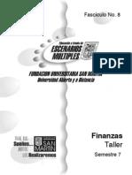 Fascículo 8 Finanzas