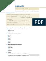 Ficha de remediação nº4