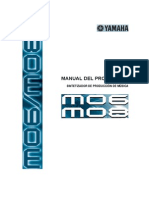 Manual Yamaha mo6-mo8