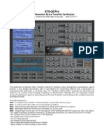 STS 26 Pro Manual