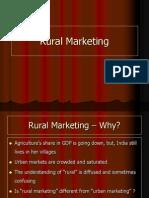 Session I - Rural Marketing