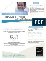 Survive Thrive Seminar 8-13-09