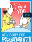Advisory for Caregivers &Contacts
