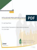 01 1Patologiamasprevalenteenlaadolescencia Dr Casas