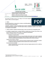 Norma 001-2012 Viajantes - Vacinacao Contra o Sarampo