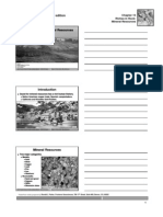 structural geology Mineral Resources