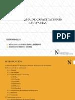 Programa de Capacitaciones Sanitarias - Construcción de Instalaciones e Instalaciones Sanitarias