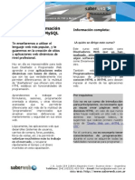 Programacion Web Con PHP y MySQL - SaberWeb