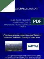 Poluarea orasului Galati