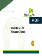 Elaboracion de Inventarios Criticos