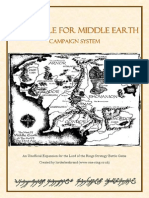 The Battle for Middle Earth Campaign Rules (V2)