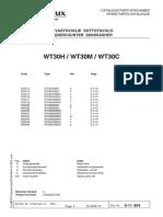 WT30 Parts Manual