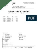 WT830 & WT850 Parts Manual