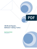 Most Popular Software Testing Terms