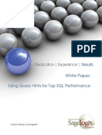 Oracle SQL Perfomance