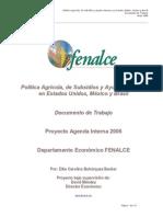 Fin Ultimo de Los Subsidios Eeuu Mexico y Brasil