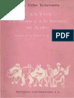Cantos a Lo Divino y a Lo Humano en Aculeo - Juan Uribe Echeverria.